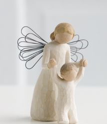 Willowtree Angel Guardian display-ART